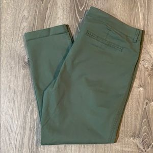 Sage Green Old Navy Pixie Pants